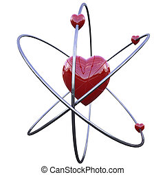 concept of the atom of love