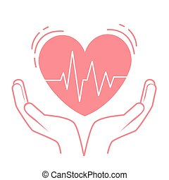 concept of treatment heart