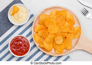 Concept of unhealthy food.
