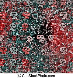 old grunge death metal texture