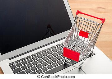 concept, online winkelend