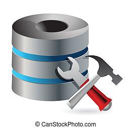 concept, optimization, configuratie, databank