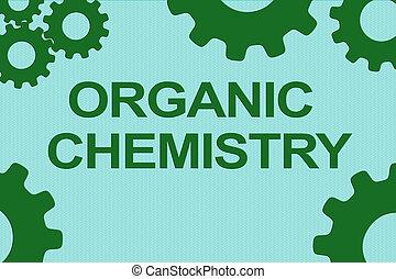 concept, organique, chimie