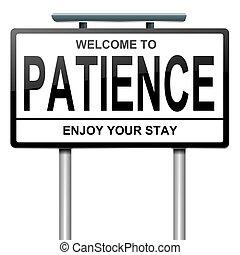 concept., paciencia