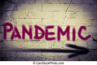 concept, pandémie