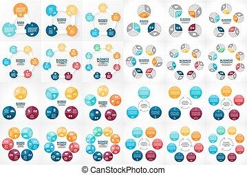 concept, parties, 6, 24, processes., graphique, 4, facile, 8...