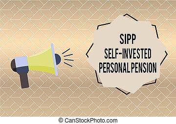 concept, personnel, texte, soi, signification, écriture, pension., quoique, avenir, sipp, préparer, jeune, investi, écriture, sauver