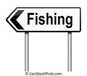concept., pesca