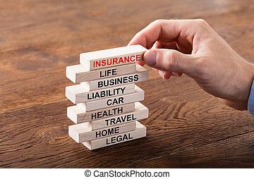 concept, pile, assurance