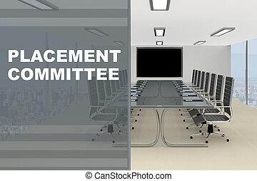 concept, placement, comité