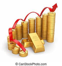 concept., price., or, business, grandir