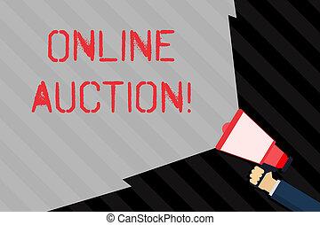 concept, processus, texte, range., vide, auction., écriture, tenue, ligne, porte voix, vente, main, volume, étendre, signification, services, achat, large, marchandises, faisceau, écriture, ou