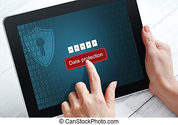 concept, protection données
