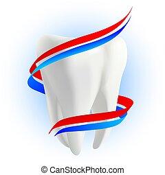 concept., protezione, denti