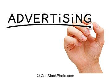 concept, publicité