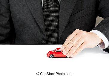 concept, réparation, jouet, service, Business, voiture,...