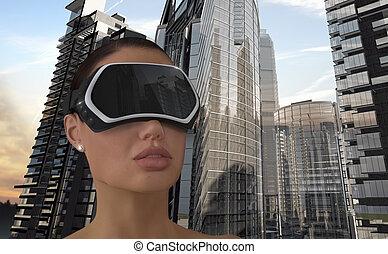 concept., realidad virtual