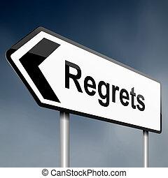 concept., regrets