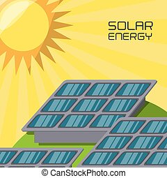 concept releated with solar power
