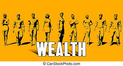 concept, richesse