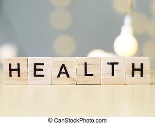 concept, santé médicale, soin
