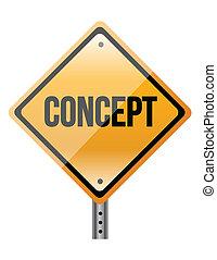 """""""concept"""", segno"""