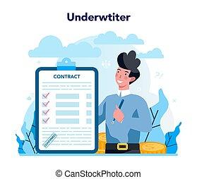 concept., seguro, pago, empresa / negocio, caso, financiero...