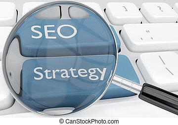 concept, seo, stratégie