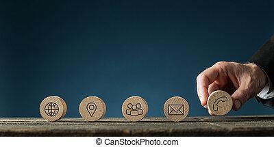 concept, service, client, information