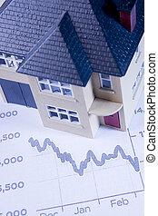 Concept Showing Decline In Housing Market