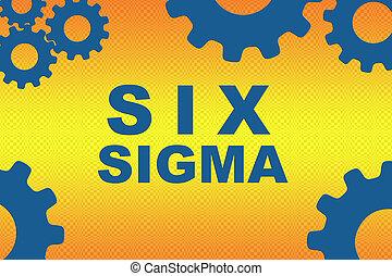 concept, sigma, six