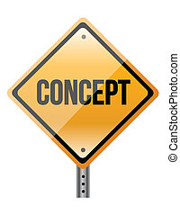 """""""concept"""" sign"""