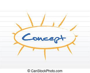 concept sign illustration design