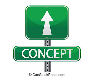 concept, signe rue