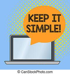 concept, simple., woord, zakelijk, detail., tekst,...
