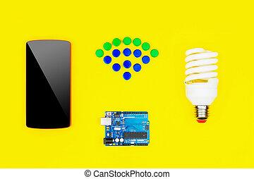 """Concept """"smart house"""""""