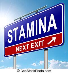 concept., stamina