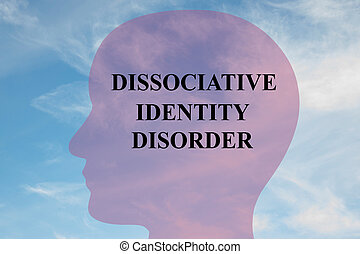 concept, stoornis, dissociative, identiteit
