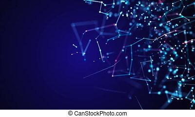 concept, structure, moléculaire, communication