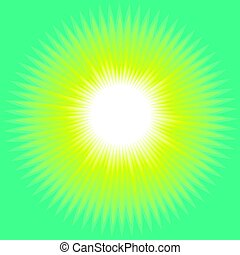 Concept Sun Abstract Background. Modern Design Elment. Geometry Pattern. Vector Illustration For Banner, Flyer, Book Cover, Poster, Print and Web Prigects.