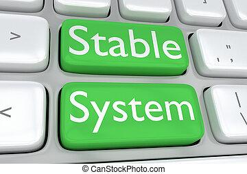 concept, système, écurie
