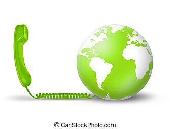 concept, télécommunications