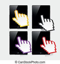 concept, tablette