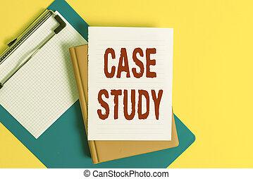 concept, tas, papiers, vide, discuté, cas, mot, être, espace copy, texte, écriture, study., apparenté, table., business, sujet, matière, topic