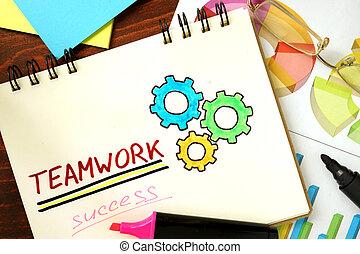 concept., teamwork., ビジネス