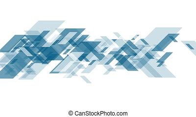Concept tech abstract blue video animation - Concept tech...