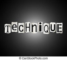 concept., technika