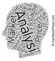 concept, technisch, tekst, achter, analyse, wordcloud, achtergrond, logica