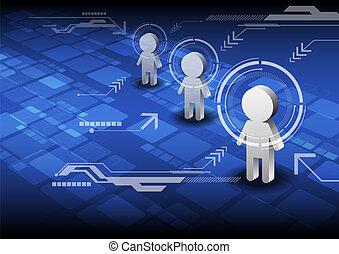 concept, technologie, innovatie