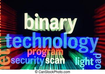 concept, technologie